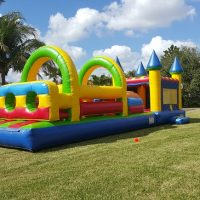 castle big bounce house  party rental in miami fl