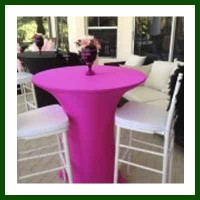 Cocktail table  and spandex  package16