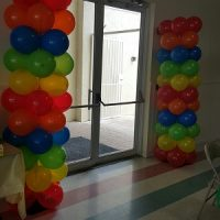 Balloon column for events