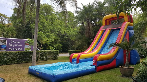 Inflatable Slides And Combos Miami Fl Dream Party Rental